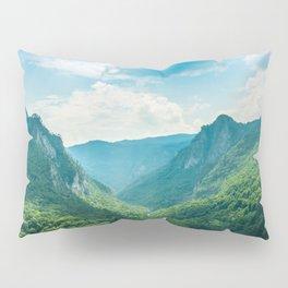 Landscape - Green Mountains  Pillow Sham