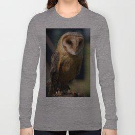 Dusk Dark Breasted Barn Owl Long Sleeve T-shirt