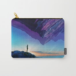 Since the moment I left Purple Carry-All Pouch