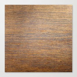 Rustic brown gold wood texture Canvas Print