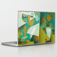 planes Laptop & iPad Skins featuring Planes by DARWIN STEAD