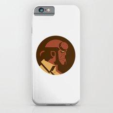 Headgear: Hell boy Slim Case iPhone 6s