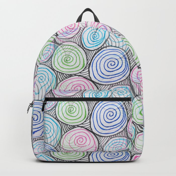 neon marbles Backpack