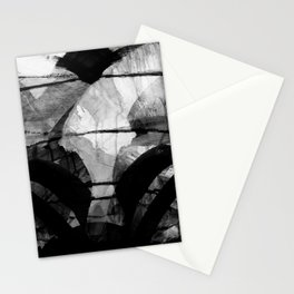 a stark winter morning Stationery Cards