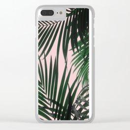 Delicate Jungle Theme Clear iPhone Case