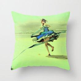 Dancer III Throw Pillow