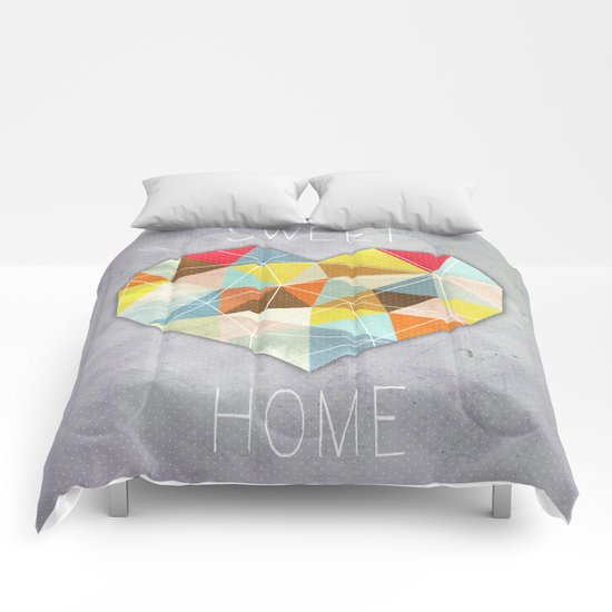Home Sweet Home Comforters