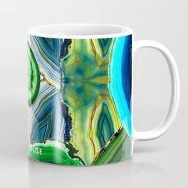 JCrafthouse Agate of Wonder in Royal Green Coffee Mug