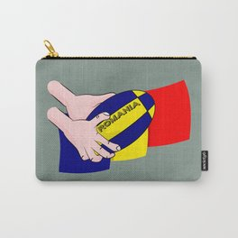 Rugby Romania Flag Carry-All Pouch