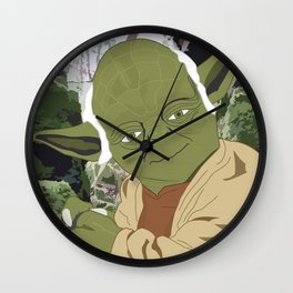 Yoda (Vector Art) Wall Clock