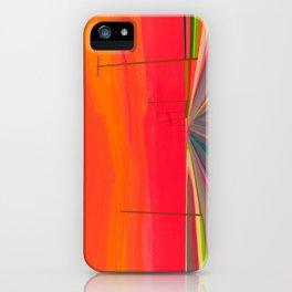 Sunset on Long Beach iPhone Case