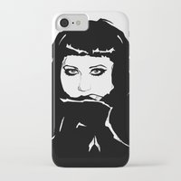 beth hoeckel iPhone & iPod Cases featuring Beth Ditto by Giorgia Ruggeri