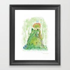The Friendly Spirit Framed Art Print