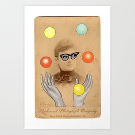 Madame is Feeling Perky Today Art Print