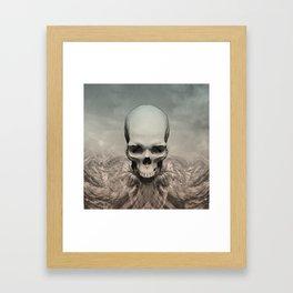Dead eagle Framed Art Print