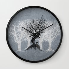 Beneath the Branches Wall Clock