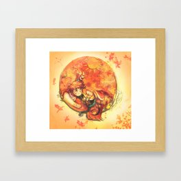 Cadeau - (Mini Chief of Kaga) Framed Art Print