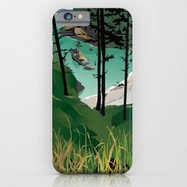 Dead Man's Cove, Washington State iPhone Case