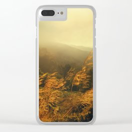 Morning Breeze Clear iPhone Case