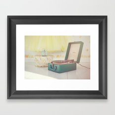 Happiness today is just a Song away... Framed Art Print