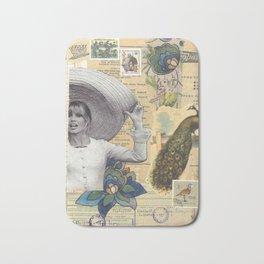 """Collage  Brigitte Bardot - """"All Around My Hat"""" Bath Mat"""