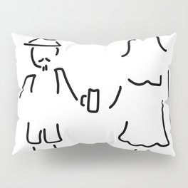 German Germany to Bavarians dirndl Pillow Sham