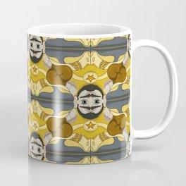 Unibrow Boxer Tessellation Coffee Mug