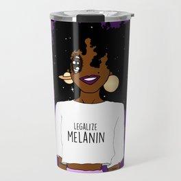 LEGALIZE MELANIN (D) Travel Mug