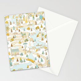 Over the River and Through the Woods Stationery Cards