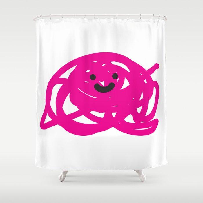 Garabato 2 Shower Curtain