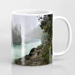 Yellowstone Falls Fog Coffee Mug