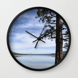 Fallen Leaf Lake Wall Clock
