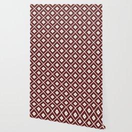 Maroon Pattern 2 Wallpaper