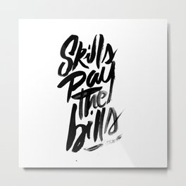 Motivational Metal Print