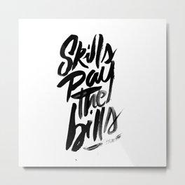 Motivational Metal Print
