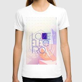LOVE JOCKEY ELECTRO T-shirt
