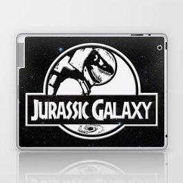 Jurassic Galaxy - White Laptop & iPad Skin
