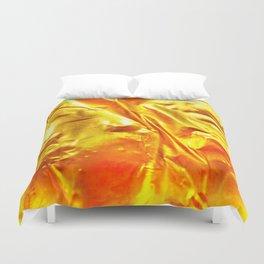 Golden Fabric Duvet Cover