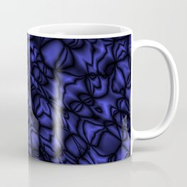 Pearl ultramarine soap bubbles patterned with precious blurred outlines. Coffee Mug