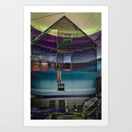 Psycho House  Art Print