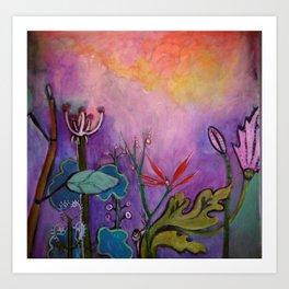 WILD AND WONDERFUL Art Print