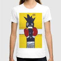 basquiat T-shirts featuring Boxer Basquiat by TheArtGoon