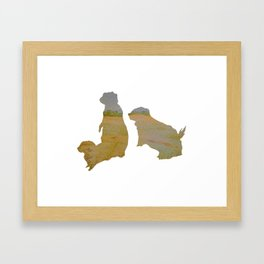 Alberta Animal Series - Prairie Dog Framed Art Print