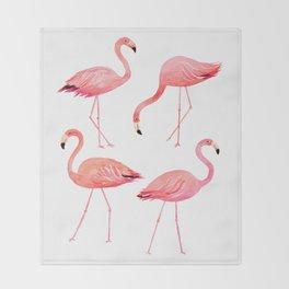 Lovely Pink! Throw Blanket