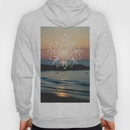 Twilight Mandala Ocean Bliss Dream #3 #sunset #decor #art #society6 Hoody