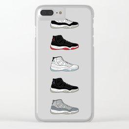 OG AJ 11 Clear iPhone Case