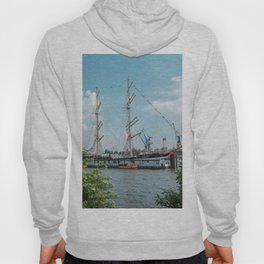 Bark Kruzenshtern in Hamburg Hoody