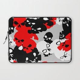 Skull Camouflage Laptop Sleeve
