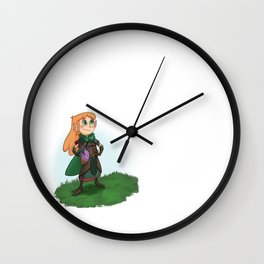 Nature Healer Wall Clock