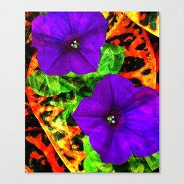 Violet Smiles Canvas Print